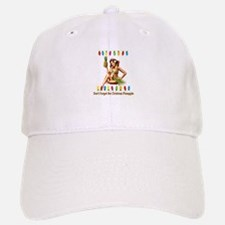 Christmas Pineapple Baseball Baseball Cap
