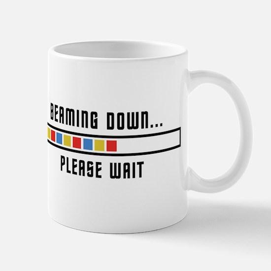 Beaming Down... Mug