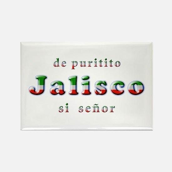 De Puritito Jalisco Rectangle Magnet