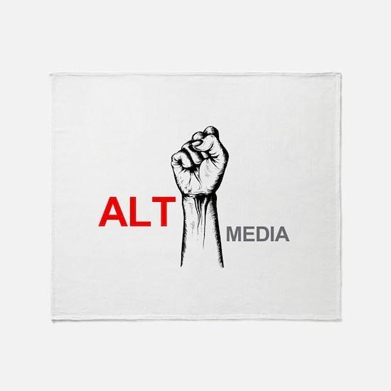 Alt Media Throw Blanket