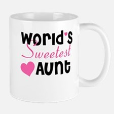 World's Sweetest Aunt Mug
