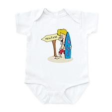 Montauk Beach Infant Bodysuit
