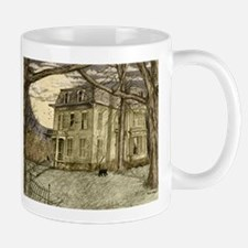 Cute Haunted mansion Mug