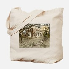 Cute Haunted mansion Tote Bag