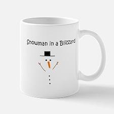 Snowman in a Blizzard Mug