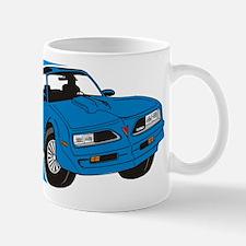 76 Firebird Blue Lines. Mugs