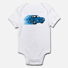 76 Firebird Blue Lines. Body Suit