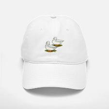 White Call Ducks Baseball Baseball Cap