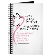 Enclose me with Love Journal