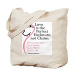 Enclose me with Love Tote Bag