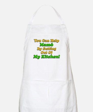 Help Mamo Getting Out Of Kitchen Apron