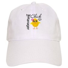 Project Manager Chick Baseball Baseball Cap