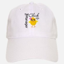 Project Manager Chick Baseball Baseball Cap