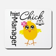 Project Manager Chick Mousepad