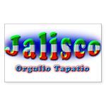 Orgullo Tapatío Sticker (Rectangle 10 pk)
