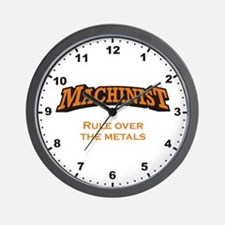 Rule over the metals! Wall Clock
