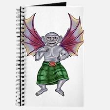 Monkey with Bat Wings Journal