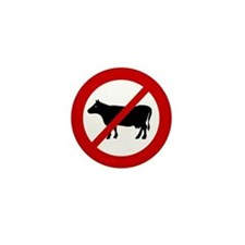 Anti Bull Mini Button