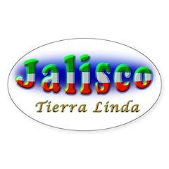 Tierra Linda Sticker (Oval)
