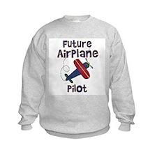 Future Airplane Pilot Sweatshirt