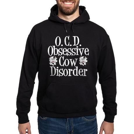 Obsessive Cow Disorder Hoodie (dark)