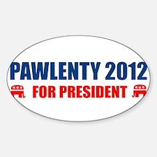 TIM PAWLENTY 2012 FOR PRESIDENT TEE SHIRT BUMPER S