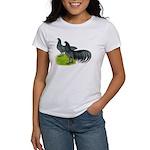 Blue Sumatra Chickens Women's T-Shirt
