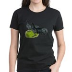 Blue Sumatra Chickens Women's Dark T-Shirt