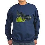 Blue Sumatra Chickens Sweatshirt (dark)