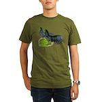 Blue Sumatra Chickens Organic Men's T-Shirt (dark)
