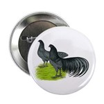 "Blue Sumatra Chickens 2.25"" Button"