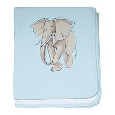 ELEPHANT (25) baby blanket