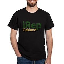iRep Oakland - Green/Yellow on Dark Shirt