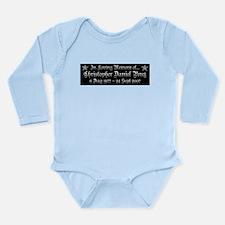 CDP5_T3 Long Sleeve Infant Bodysuit