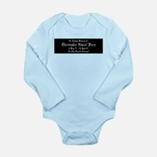 CDP2_Z1 Long Sleeve Infant Bodysuit