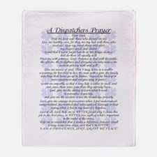 DISPATCHERS PRAYER Throw Blanket