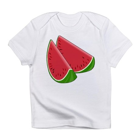 TWO WATERMELON SLICES Infant T-Shirt