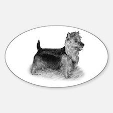 Australian Terrier Sticker (Oval)