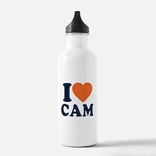 Cam Love Sports Water Bottle