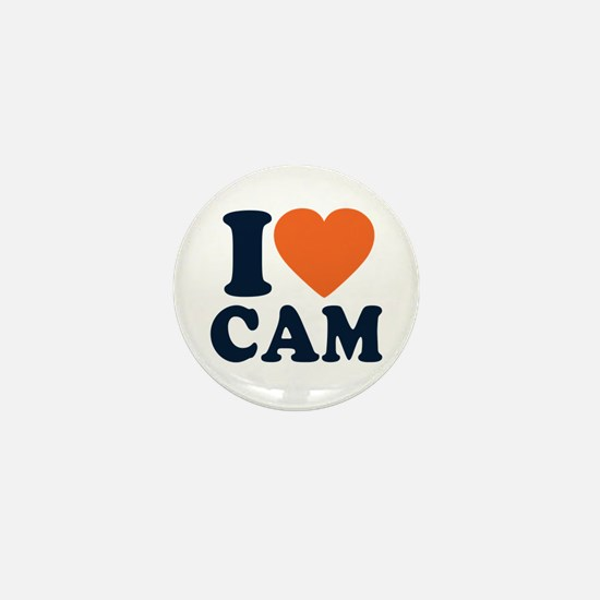 Cam Love Mini Button