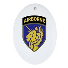 Airborne Ornament (Oval)