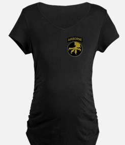 Airborne Maternity T-Shirt (Dark)