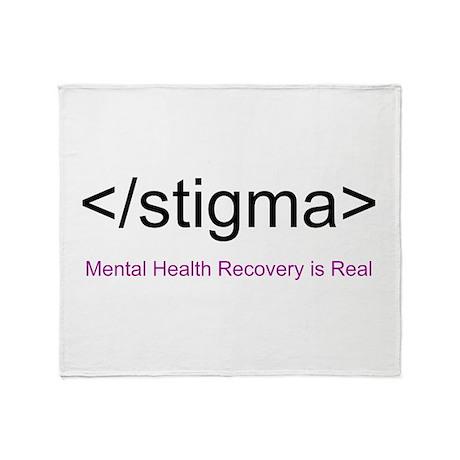 End Stigma HTML Throw Blanket
