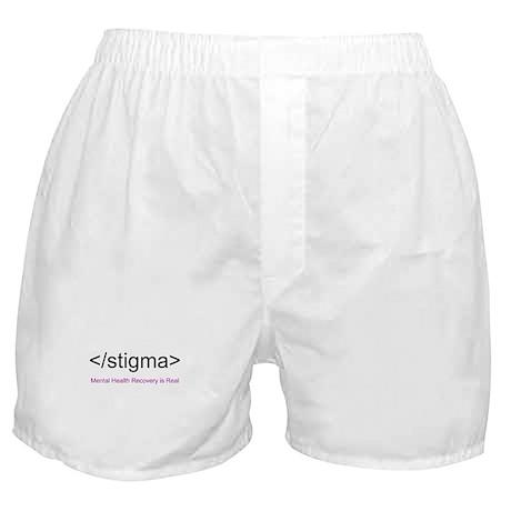End Stigma HTML Boxer Shorts