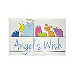Angel's Wish Rectangle Magnet
