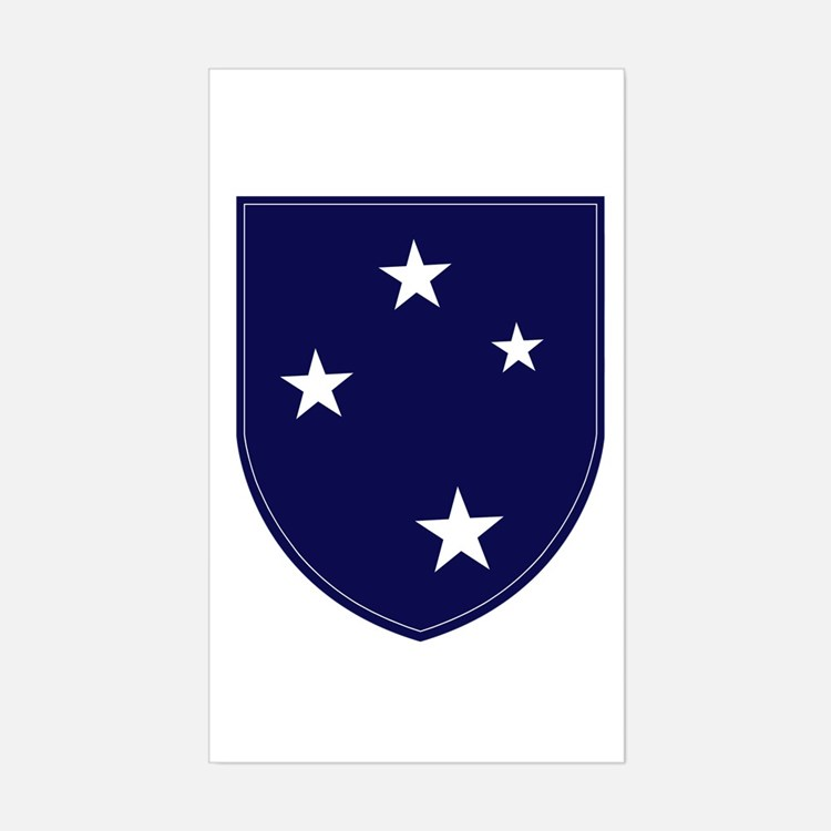 Americal Sticker (Rectangle)