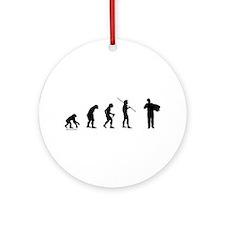 Accordion Evolution Ornament (Round)