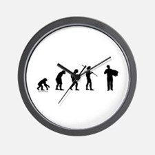 Accordion Evolution Wall Clock