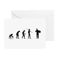 Accordion Evolution Greeting Cards (Pk of 20)