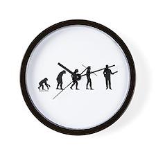 Banjo Evolution Wall Clock